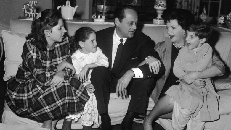 ジュディ・ガーランドと家族