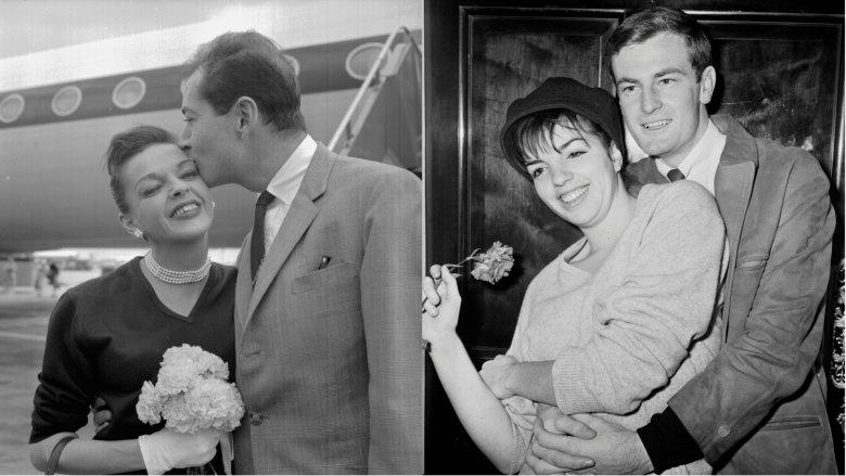 ジュディ・ガーランドと夫