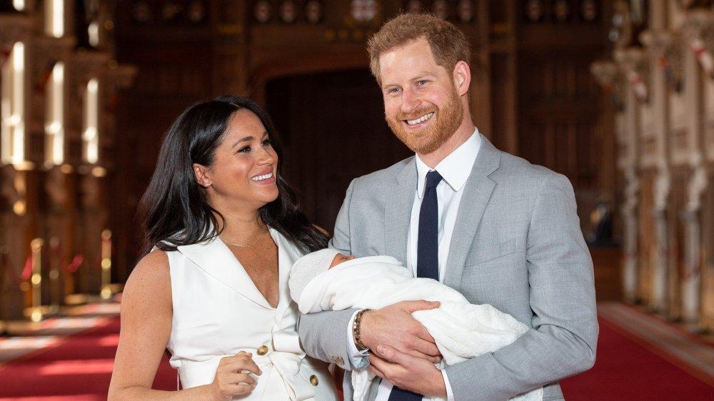 メーガン・マークル、アーチー・マウントバッテン=ウィンザー、ハリー王子