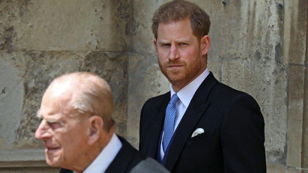 ハリー王子、フィリップ王子