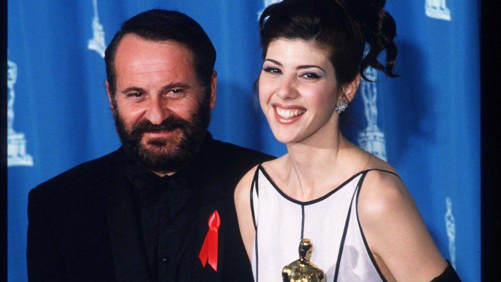 第65回アカデミー賞でのジョー・ペシとマリサ・トメイ
