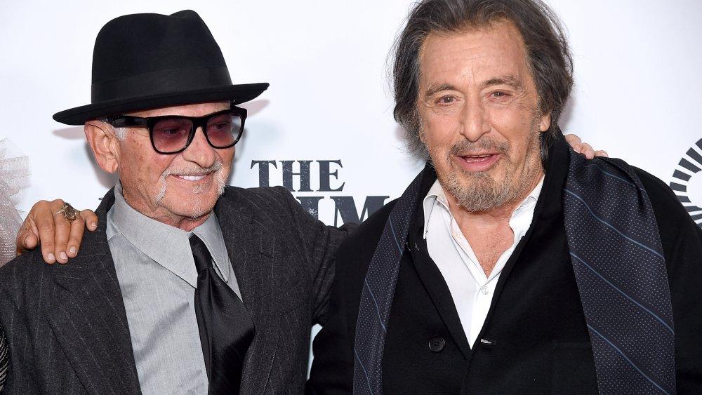 アイリッシュマン上映会でのジョー・ペシとアル・パチーノ