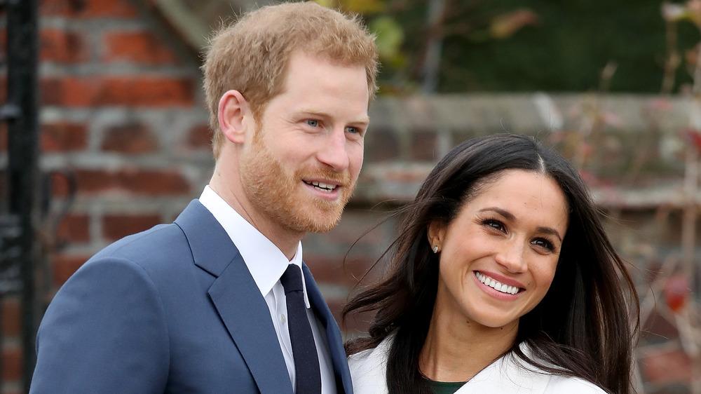 ハリー王子とメーガン・マークルの笑顔