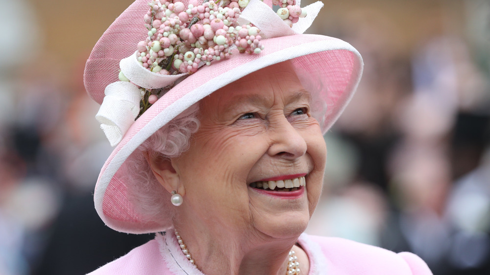 エリザベス女王の笑顔