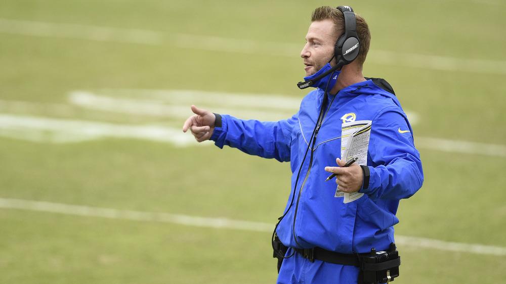 LAラムズのコーチを務めるショーン・マクベイ
