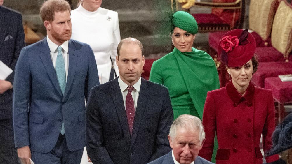 王室の散歩