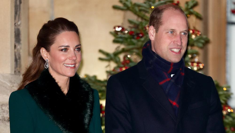 ケイトミドルトンとウィリアム王子の笑顔