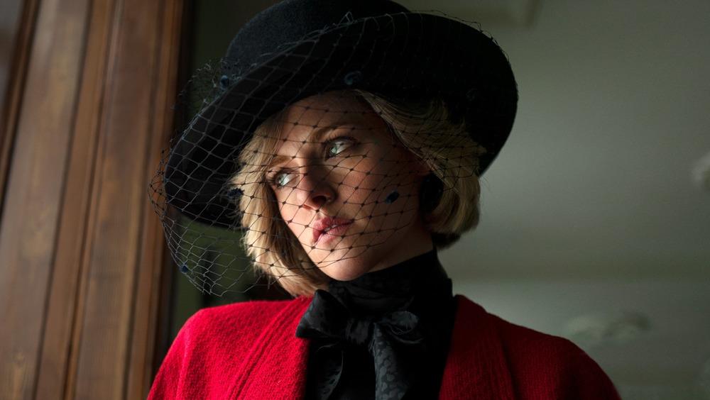 パブロ・ララインのスペンサーでダイアナ妃としてのクリステン・スチュワート