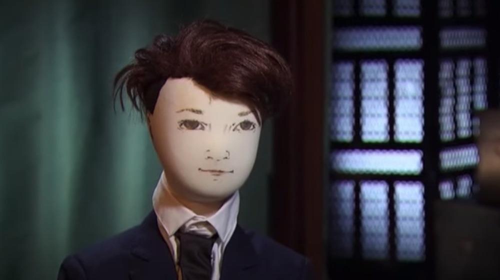 独身のアダムゴットシャルクの人形