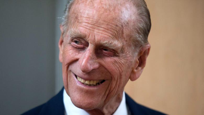 フィリップ王子の笑顔