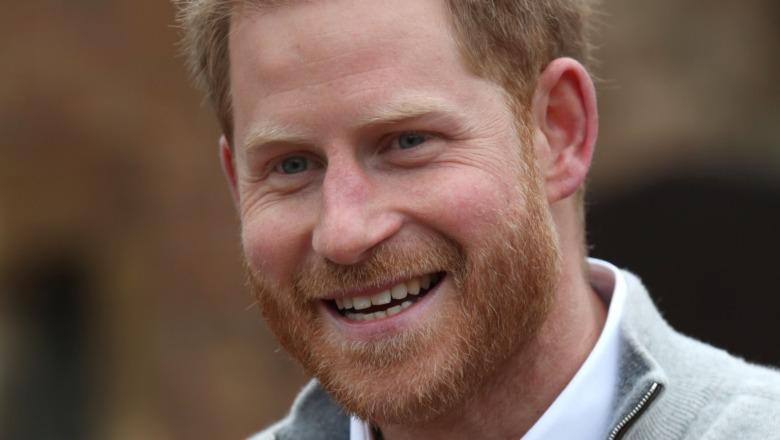 ハリー王子は笑う