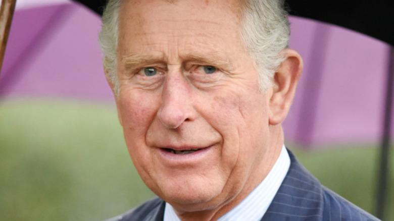 チャールズ皇太子の笑顔