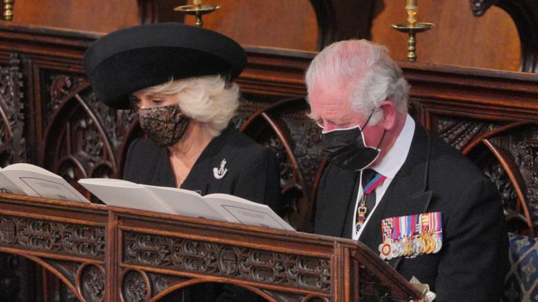 チャールズ皇太子とカミラの笑顔