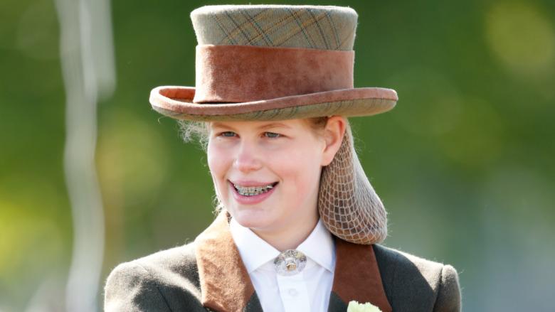 ルイーズ・ウィンザー夫人の笑顔