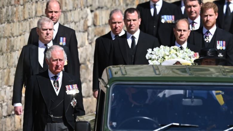 フィリップ王子の葬列