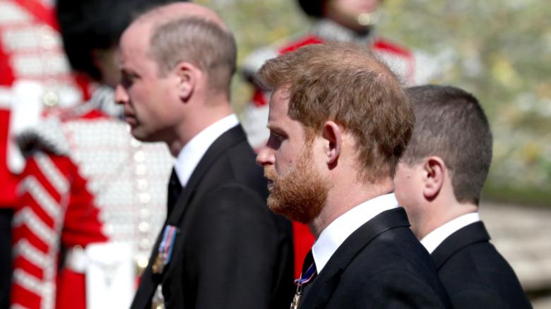 ハリー王子とウィリアム王子