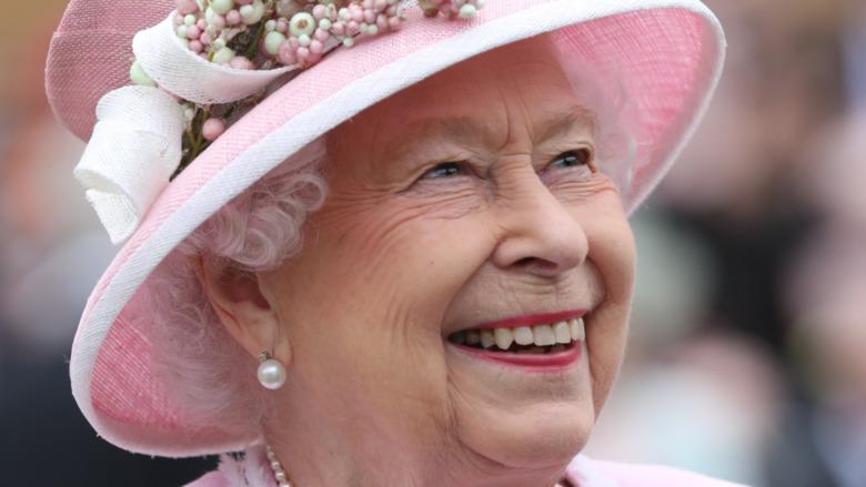 エリザベス2世の笑顔