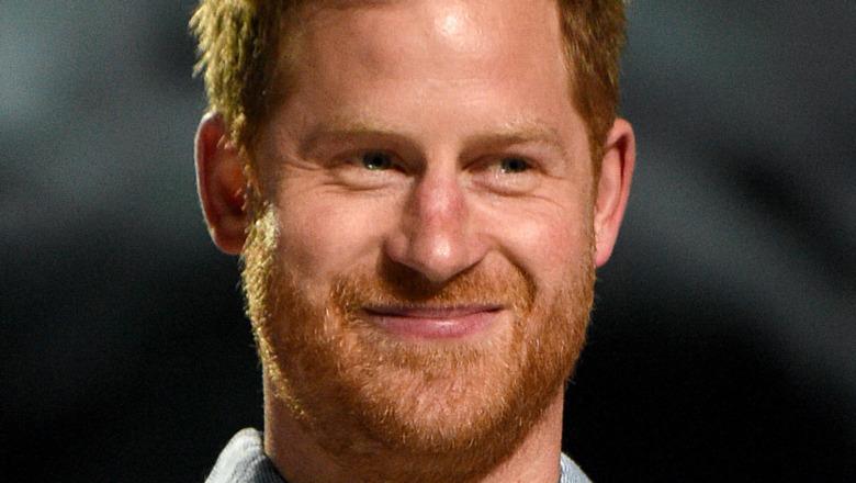 ハリー王子の笑い声
