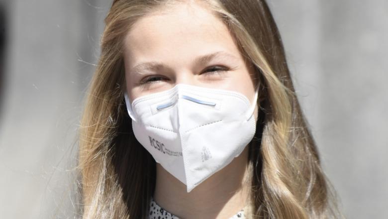マスクをかぶったレオノール王女2021