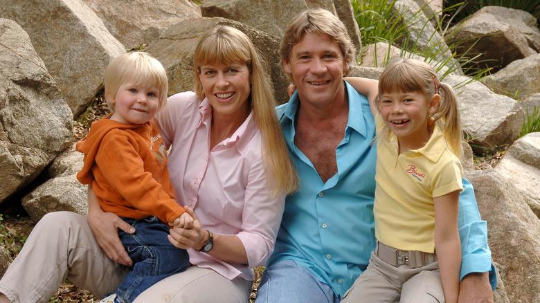 スティーブアーウィンと彼の家族
