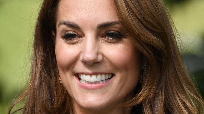 ケイトミドルトン笑顔