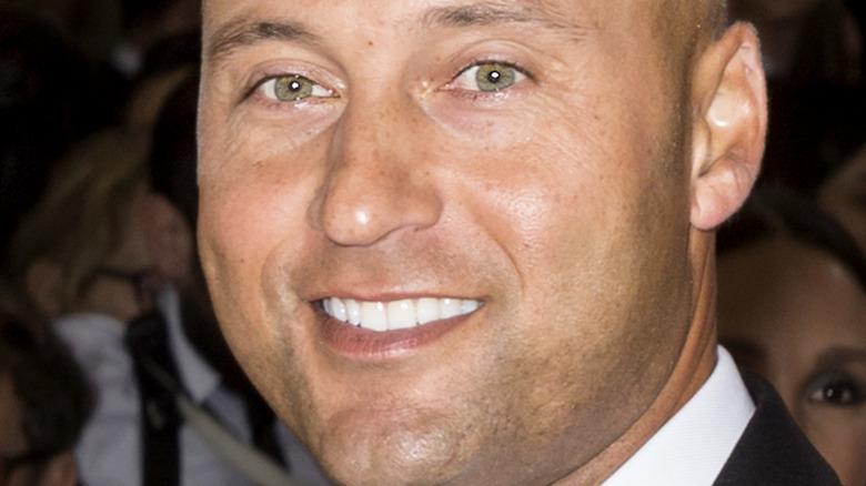 デレク・ジーターの緑色の目