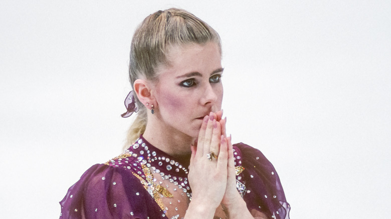 リレハンメルフィギュアスケート競技会でのトーニャハーディング