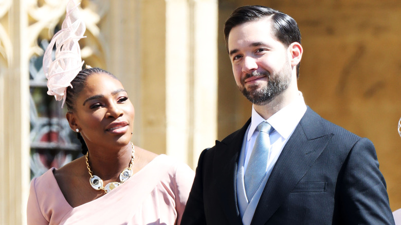 メーガン・マークルの結婚式でのセリーナ・ウィリアムズとアレクシス・オハニアン