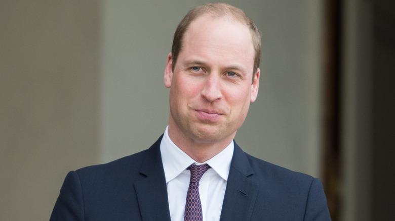 ウィリアム王子の笑顔