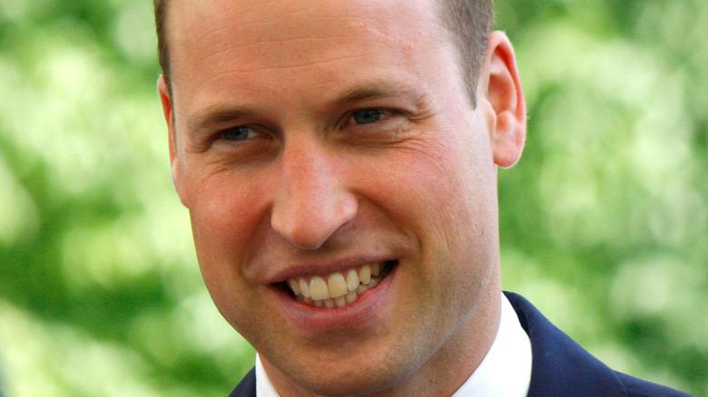 ウィリアム王子はげと笑顔