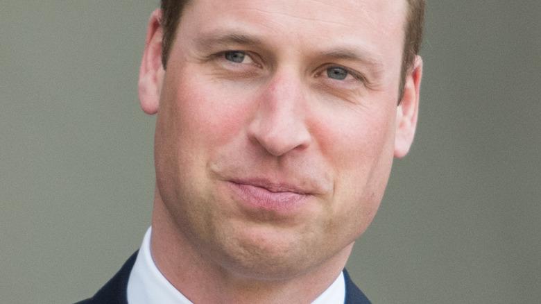 ウィリアム王子のポーズ
