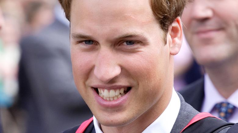 ウィリアム王子の傷跡